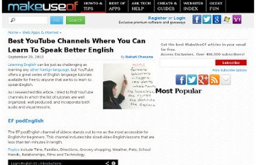 http://www.makeuseof.com/tag/youtube-channels-learn-speak-english/
