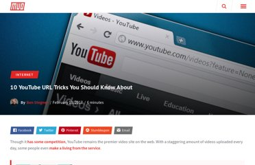 http://www.makeuseof.com/tag/10-youtube-url-tricks-you-should-know-about/