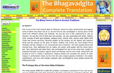 http://www.hinduwebsite.com/siva/ancientforms.asp
