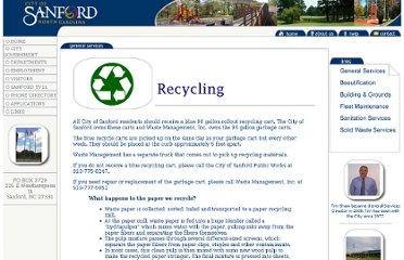 http://www.sanfordnc.net/general_services/Solid_Waste/recycle.htm