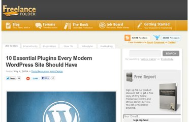 http://freelancefolder.com/essential-wordpress-plugins/