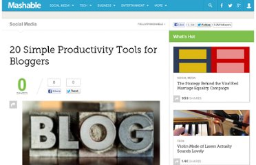 http://mashable.com/2009/08/06/blogging-productivity-tools/
