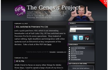 http://blogs.adobe.com/genesisproject/