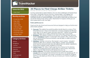 http://www.airlinecreditcards.com/travelhacker/30-places-to-find-cheap-airline-tickets/