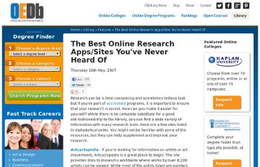 http://oedb.org/library/features/best-online-research-sites