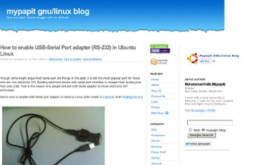 http://blog.mypapit.net/2008/05/how-to-use-usb-serial-port-converter-in-ubuntu.html