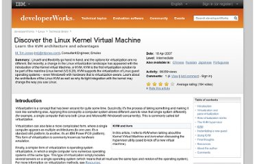 http://www.ibm.com/developerworks/linux/library/l-linux-kvm/index.html