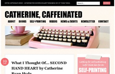 http://catherineryanhoward.com/2010/08/19/what-i-thought-of-second-hand-heart-by-catherine-ryan-hyde/