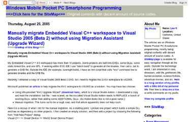http://windowsmobilepro.blogspot.com/2005/08/manually-migrate-embedded-visual-c.html