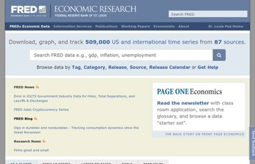 http://research.stlouisfed.org/fred2/