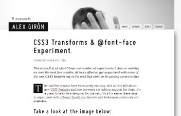 http://neography.com/journal/css-transforms-font-face-experiment/