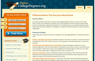 http://www.onlinecollegedegrees.org/2009/05/20/50-banned-books-that-everyone-should-read/