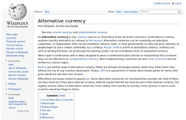 http://en.wikipedia.org/wiki/Alternative_currency