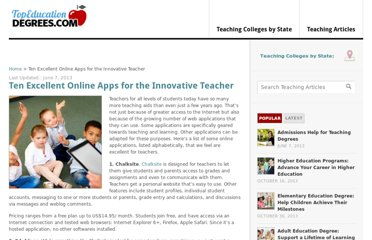 http://www.topeducationdegrees.com/online-apps-innovative-teachers