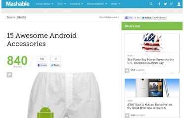 http://mashable.com/2010/06/27/android-accessories/#15-Android-Dog-TShirt