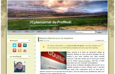 http://blog.profnoel.com/index.php/maverick-meerkat-pour-les-impatients