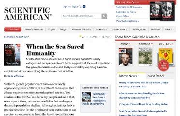 http://www.scientificamerican.com/article.cfm?id=when-the-sea-saved-humanity