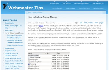 http://tips.webdesign10.com/how-to-make-a-drupal-theme