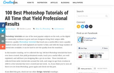 http://creativefan.com/101-best-photoshop-tutorials/
