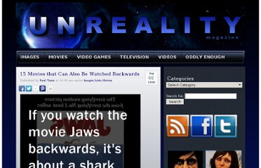 http://unrealitymag.com/index.php/2009/09/01/watching-15-movies-backwards/