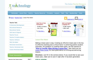 http://www.teach-nology.com/web_tools/lesson_plan/
