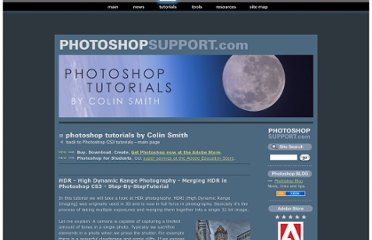 http://www.photoshopsupport.com/tutorials/colin/hdr-photoshop-cs3-tutorial.html