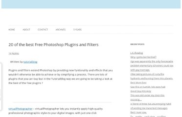 http://www.bspcn.com/2007/05/17/20-of-the-best-free-photoshop-plugins-and-filters/