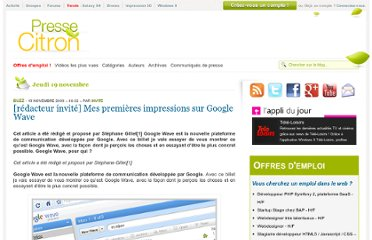 http://www.presse-citron.net/guide-google-wave