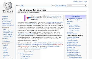 http://en.wikipedia.org/wiki/Latent_semantic_analysis