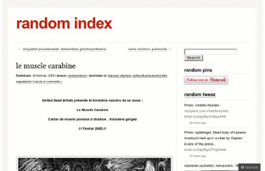 http://randomindex.wordpress.com/2009/02/28/le-muscle-carabine/