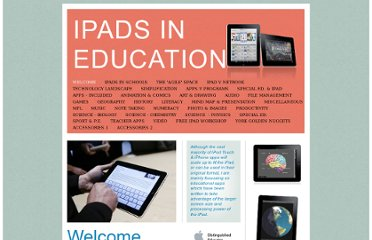 http://www.ipadineducation.co.uk/iPad_in_Education/Welcome.html