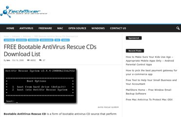http://www.techmixer.com/free-bootable-antivirus-rescue-cds-download-list/