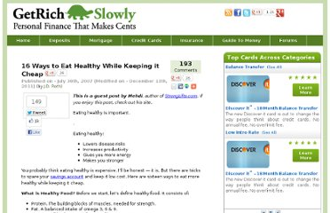 http://www.getrichslowly.org/blog/2007/07/30/16-ways-to-eat-healthy-while-keeping-it-cheap/