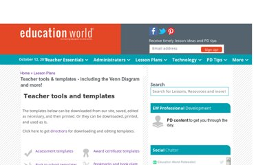 http://www.educationworld.com/tools_templates/index.shtml#organizational