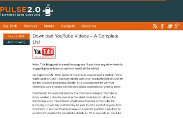 http://pulse2.com/2008/02/11/download-youtube-videos-complete-list/