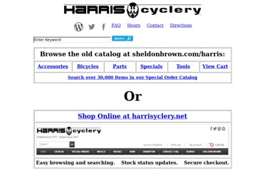 http://www.sheldonbrown.com/harris/index.html