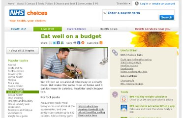 http://www.nhs.uk/Livewell/loseweight/Pages/Eatwellcheap.aspx