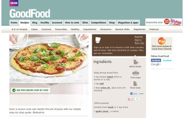 http://www.bbcgoodfood.com/recipes/4683/pizza-margherita-in-4-easy-steps