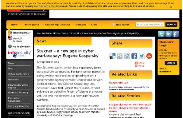 http://www.infosecurity-magazine.com/view/12757/stuxnet-a-new-age-in-cyber-warfare-says-eugene-kaspersky/
