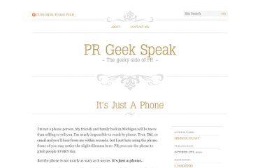http://prgeekspeak.com/2010/10/05/its-just-a-phone/