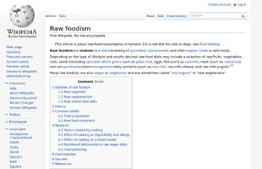 http://en.wikipedia.org/wiki/Raw_foodism#Raw_food_movement