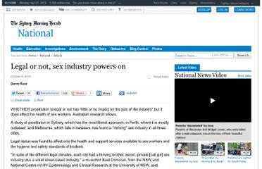 http://www.smh.com.au/national/legal-or-not-sex-industry-powers-on-20101005-1669t.html