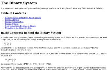 http://www.math.grin.edu/~rebelsky/Courses/152/97F/Readings/student-binary