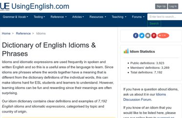 http://www.usingenglish.com/reference/idioms/