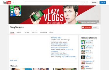 http://www.youtube.com/user/TobyTurner
