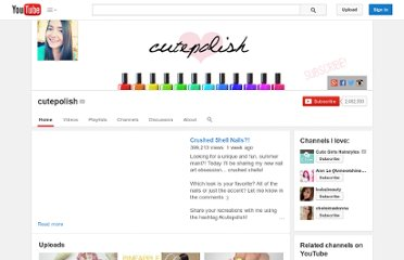 http://www.youtube.com/user/cutepolish
