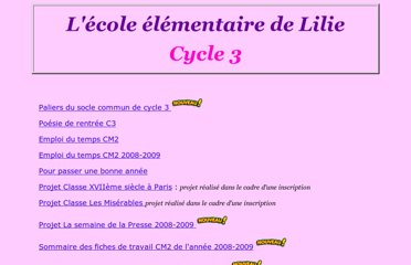 http://lilie2fr.pagesperso-orange.fr/html/elementaire-Cycle3.html