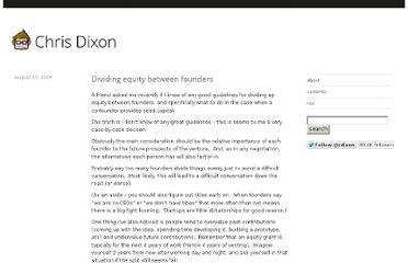 http://cdixon.org/2009/08/23/dividing-equity-between-founders/