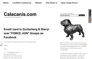 http://calacanis.com/2010/10/07/email-i-sent-to-zuckerberg-sheryl-over-force-join-groups-on-facebook/