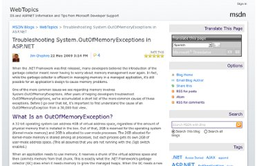 http://blogs.msdn.com/b/webtopics/archive/2009/05/22/troubleshooting-system.outofmemoryexceptions-in-asp.net.aspx